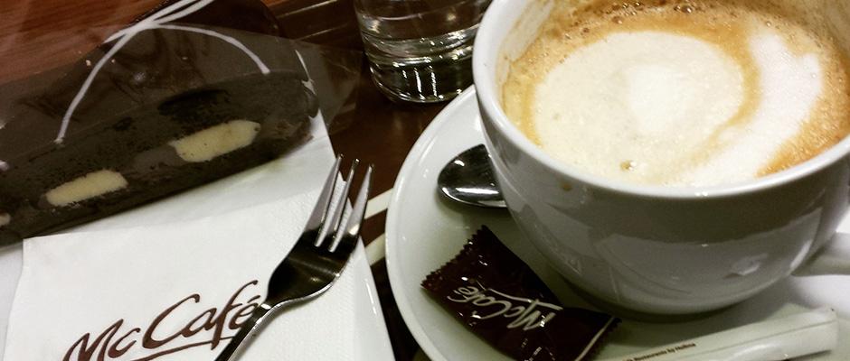 Kaffeepause bei McCafé