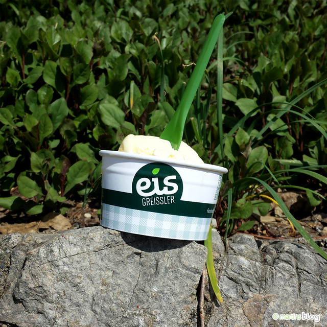 Eis Greissler: Kaffee, Vanille