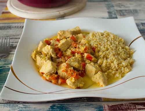 Hühnchen-Curry á la Druckwunder