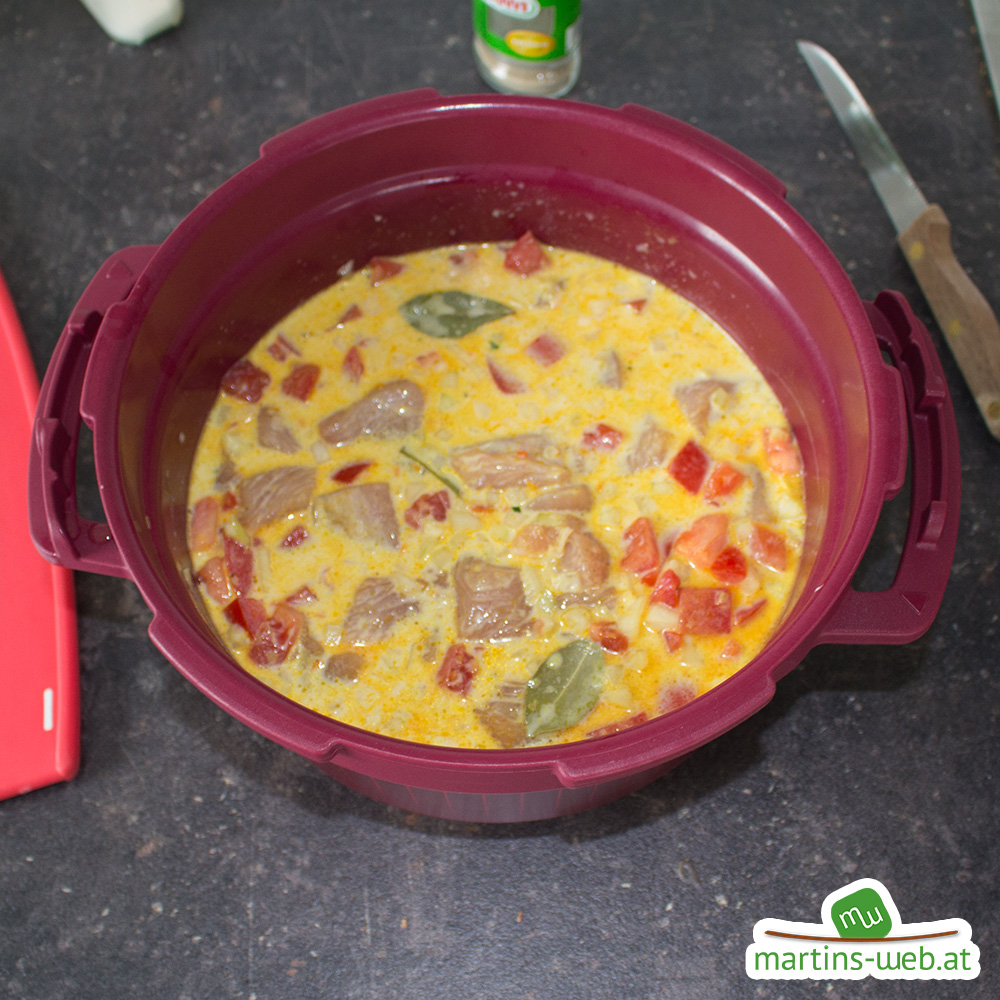 Hühnchen-Curry a la Druckwunder