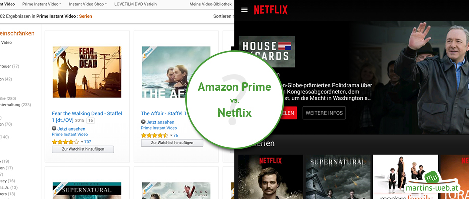 Amazon Prime vs. Netflix