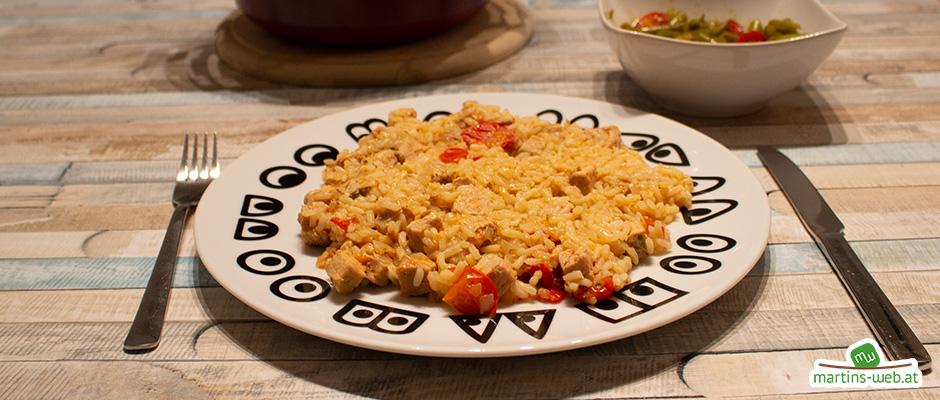 Reisfleisch aus dem Druckwunder
