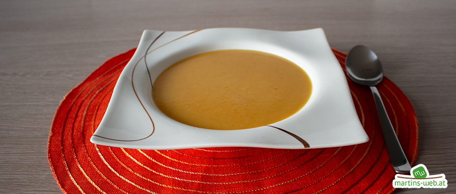 Kartoffel-Curry-Cremesuppe