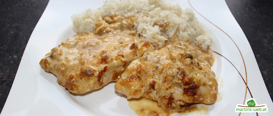 Zwiebel-Chili-Hühnchen
