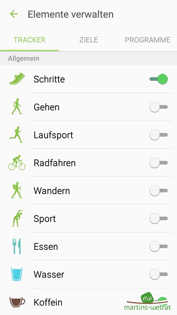 S Health App