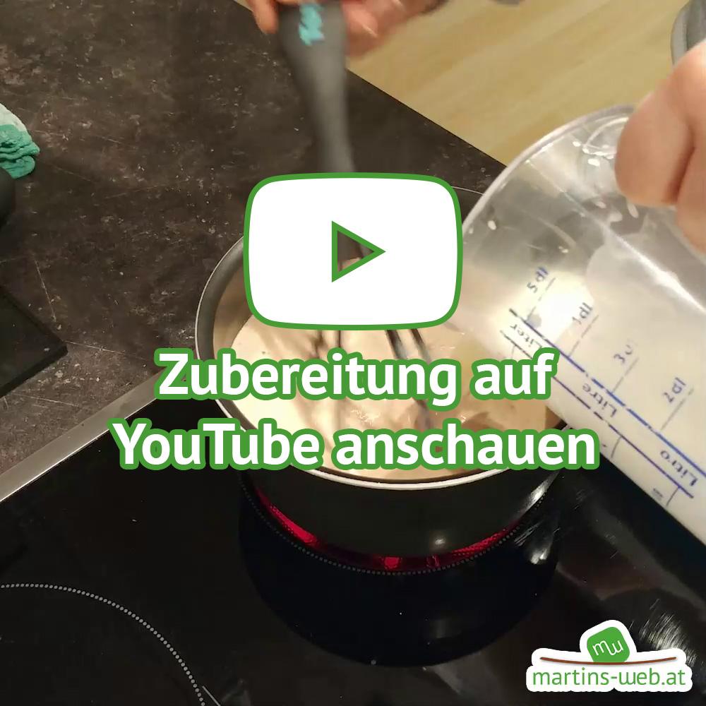 Zubereitung auf YouTube anschauen