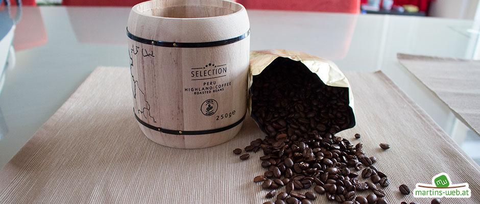 Kaffee aus dem Fass