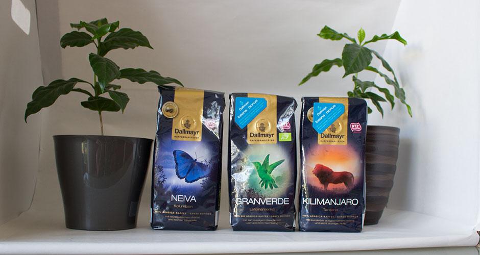 Kaffeeraritäten von Dallmayr