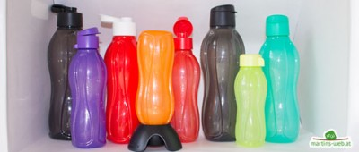Tupperware Ökoflaschen