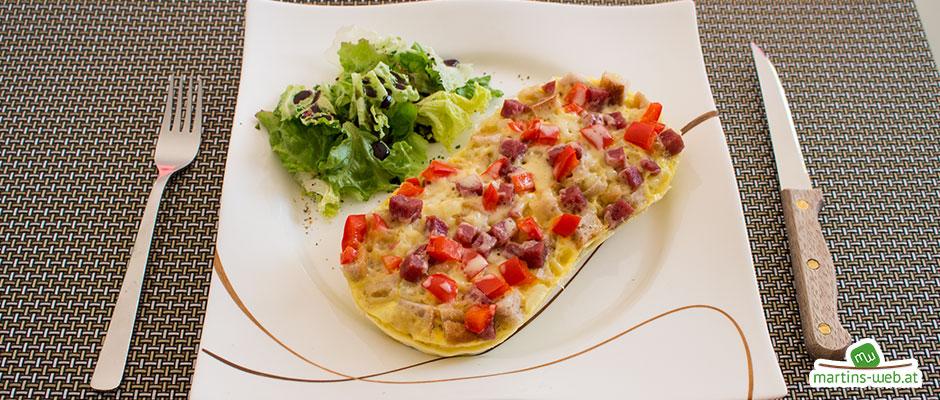 Pizza-Omlett