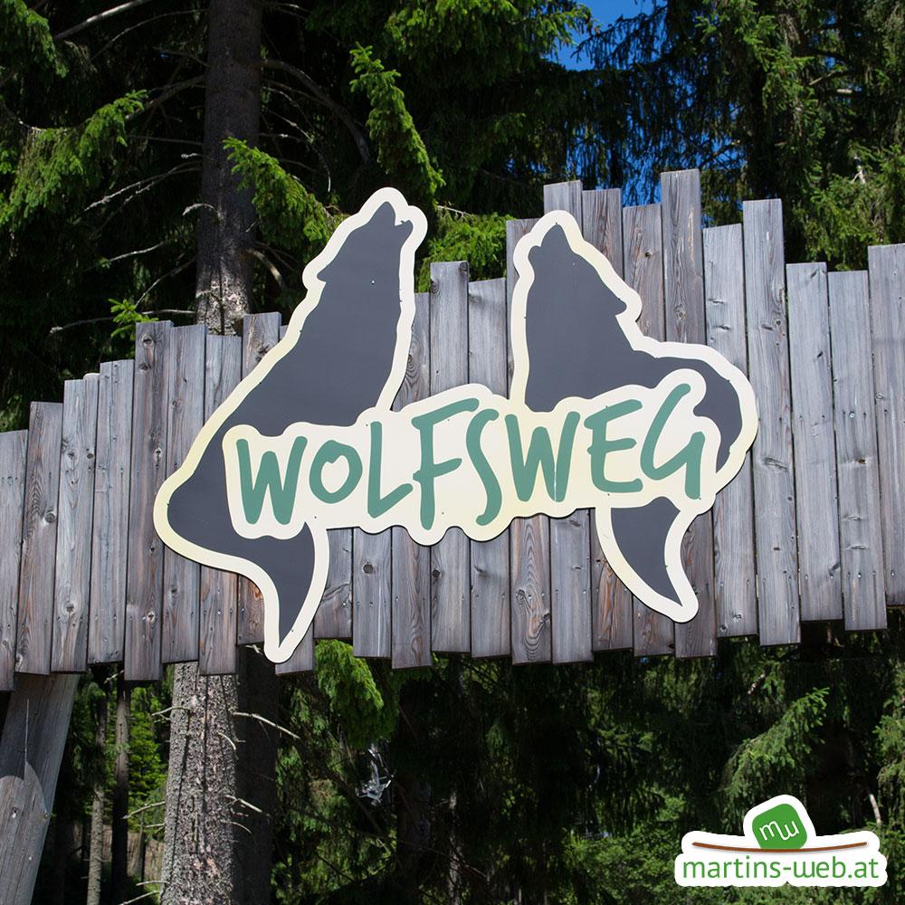 Der wilde Berg - Wolfsweg