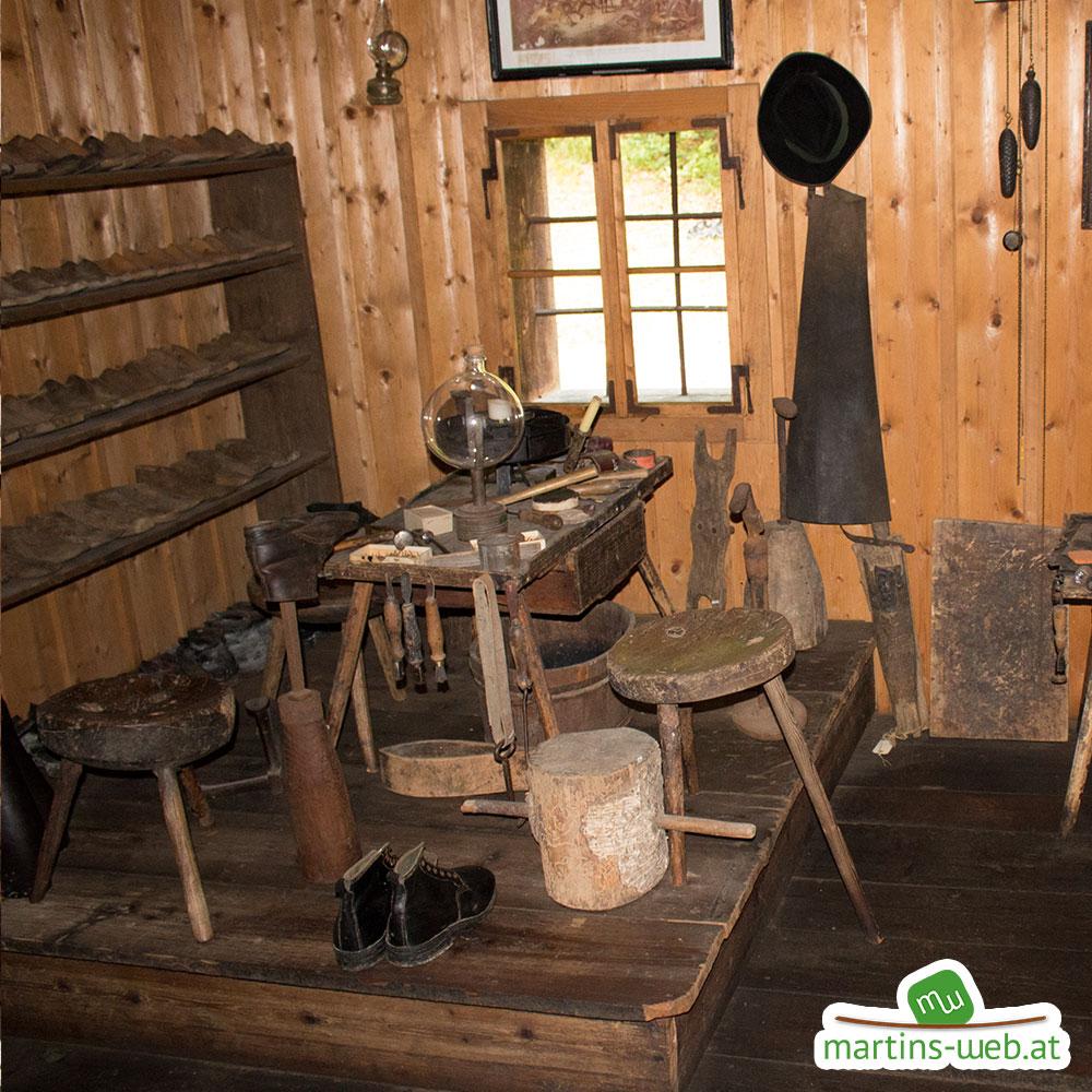 Freilichtmuseum Stübing Schusterhütte