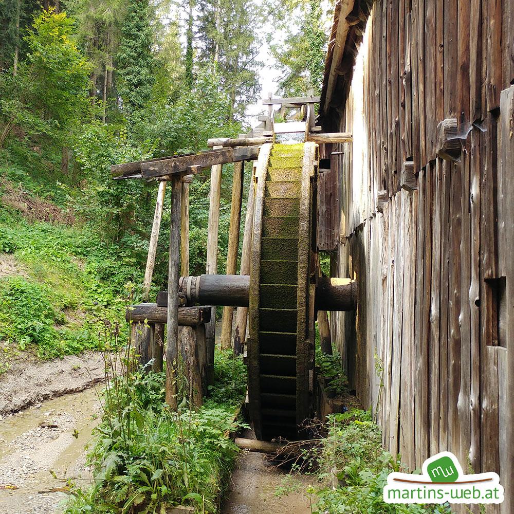 Freilichtmuseum Stübing Wasserrad