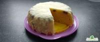 Rosinenkuchen mit Schokoglasur