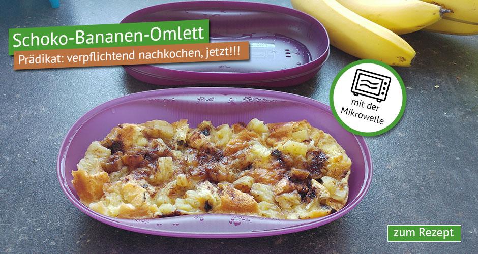 Schoko-Bananen Omlett