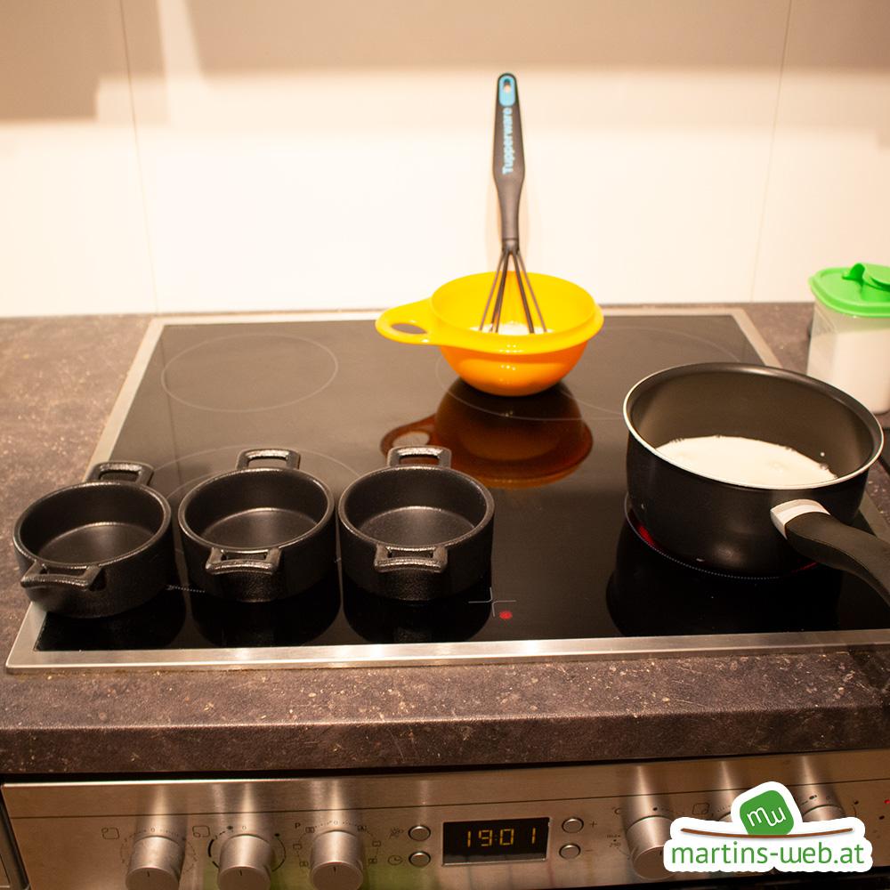 Puddingzubereitung