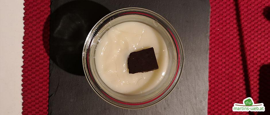 Pudding mit Bio-Haferdrink