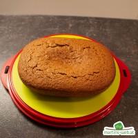 Schoko-Haselnusskuchen mit Orangenzucker