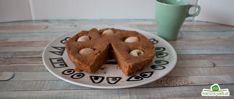 Schoko-Litschi-Kuchen