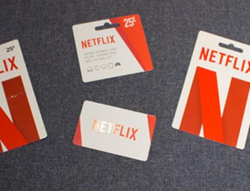 Netflix mit Gutscheinkarte
