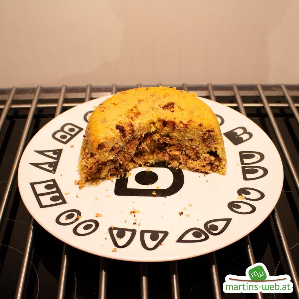 Knoppers-Kuchen zu trocken