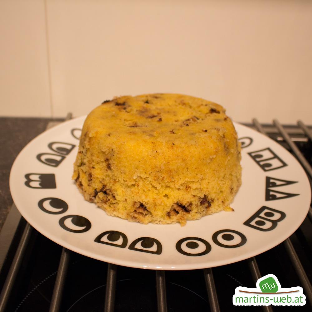 Knoppers-Kuchen, noch sieht alles gut aus