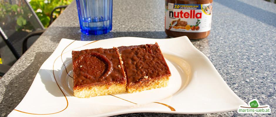 Nutella-Kuchen