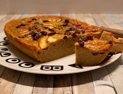 Schneller Apfel-Rosinen Kuchen