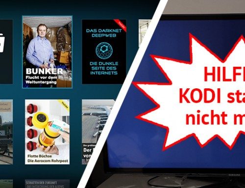 LibreELEC & KODI-Backup erstellen