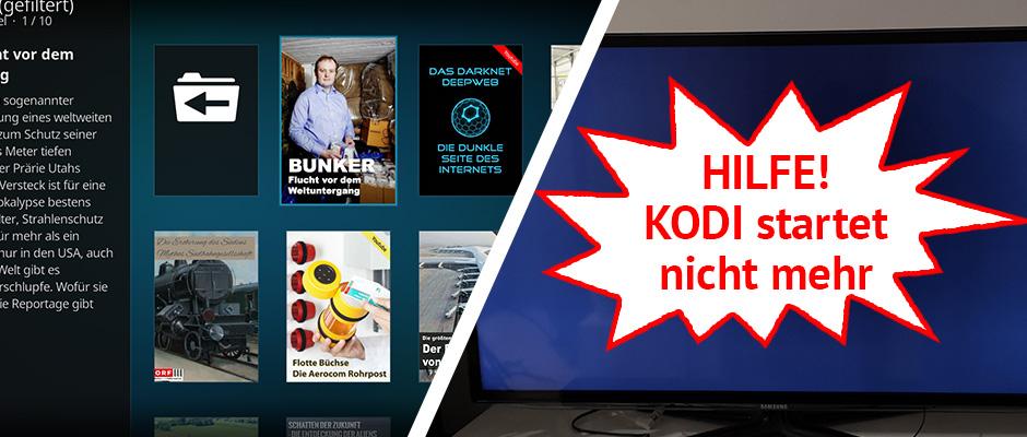 KODI-Backups erstellen
