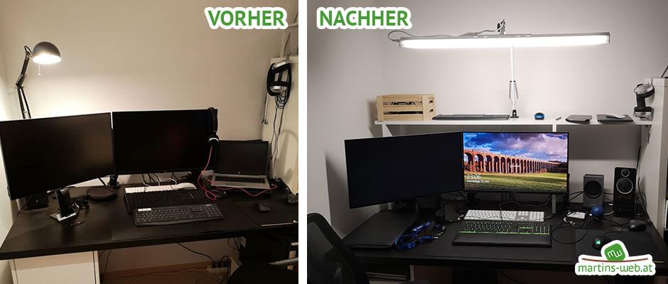 DIY Schreibtischlampe fürs Homeoffice