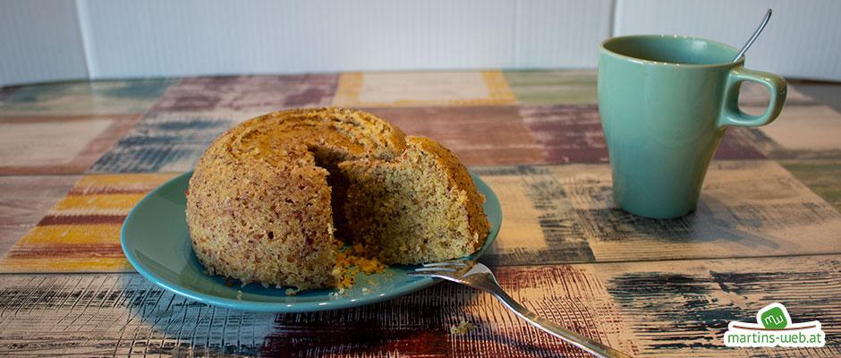 Genial einfacher Haselnuss-Kuchen