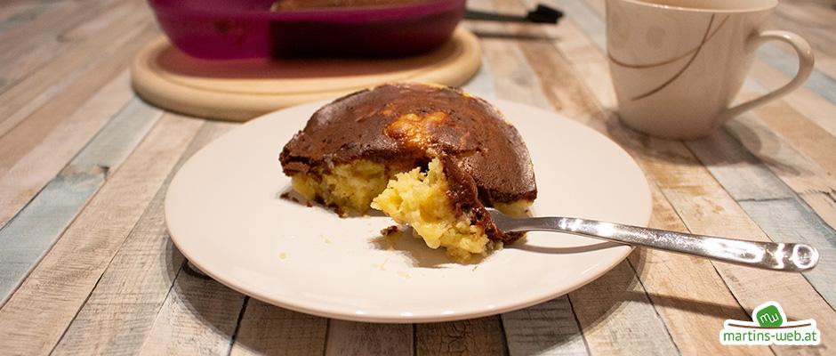 Omlettwunder Schoko-Bananen-Kuchen