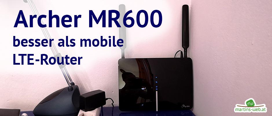 Archer MR600 - LTE Router