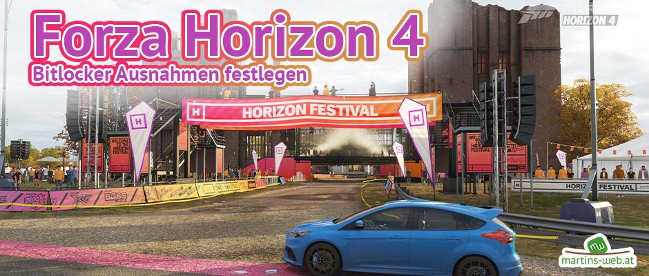 Forza Horizon 4 mit Bitdefender spielen