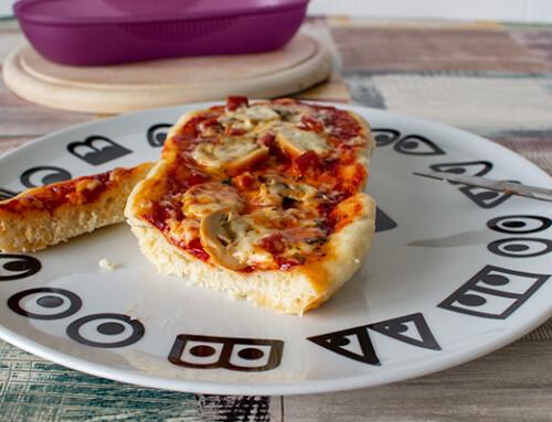 Schnelle Omlettwunder Salami-Pizza